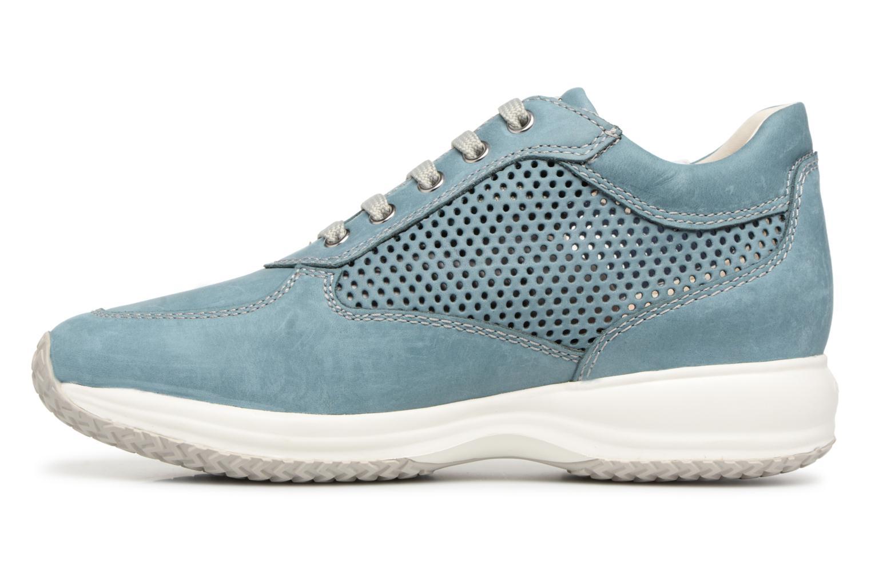 Geox D Happy A Más D5262A (Azul) - Deportivas en Más A cómodo Nuevos zapatos para hombres y mujeres, descuento por tiempo limitado f9d03f