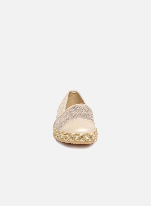 Espadrilles Geox D Modesty C D7229C Or et bronze vue portées chaussures