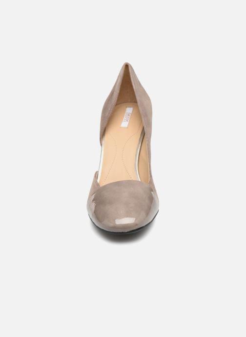 High heels Geox D Audalies H.C D723XC Grey model view