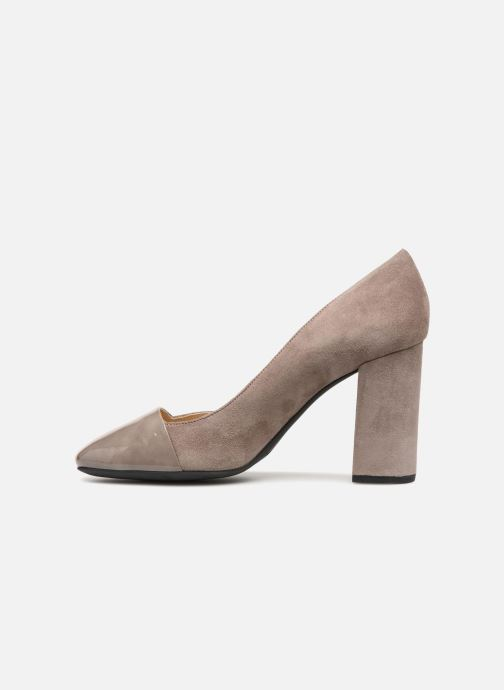 High heels Geox D Audalies H.C D723XC Grey front view