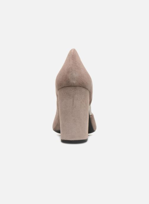 High heels Geox D Audalies H.C D723XC Grey view from the right