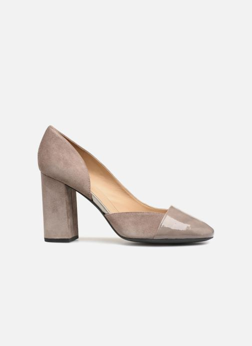 High heels Geox D Audalies H.C D723XC Grey back view