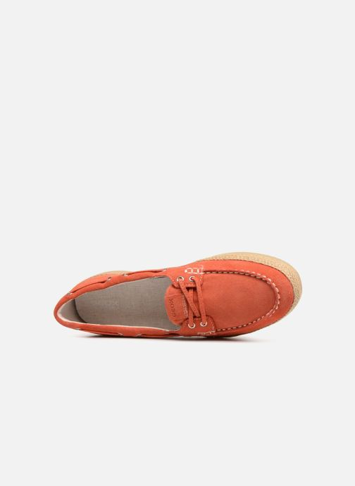 Loafers Geox D Maedrys C D724EC Orange view from the left