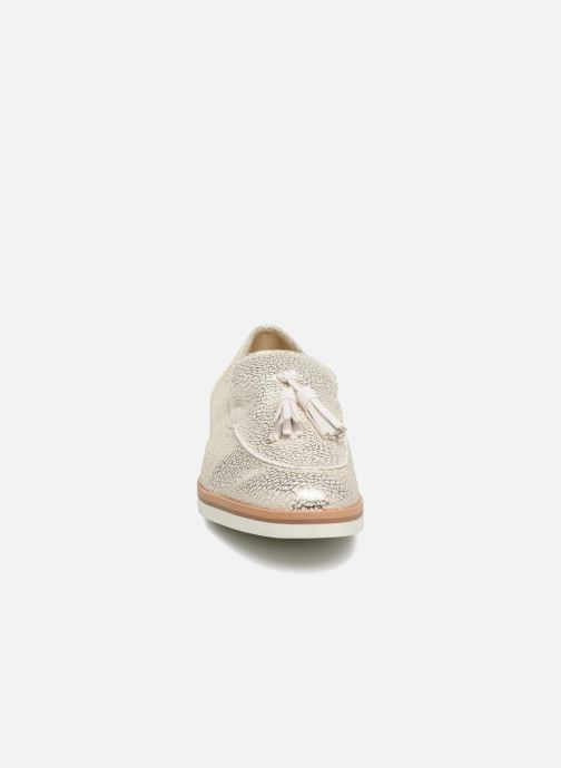Loafers Geox D Janalee E D725AE White model view