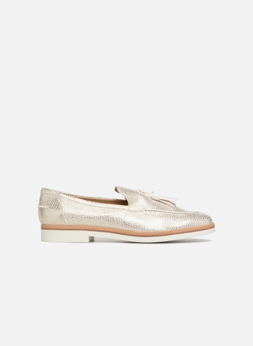 Loafers Geox D Janalee E D725AE White back view