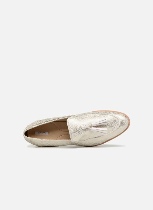 Loafers Geox D Janalee E D725AE White view from the left