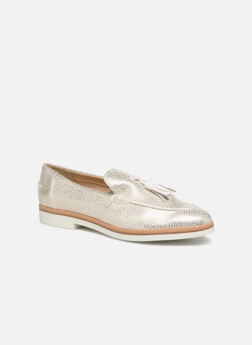 Loafers Geox D Janalee E D725AE White detailed view/ Pair view