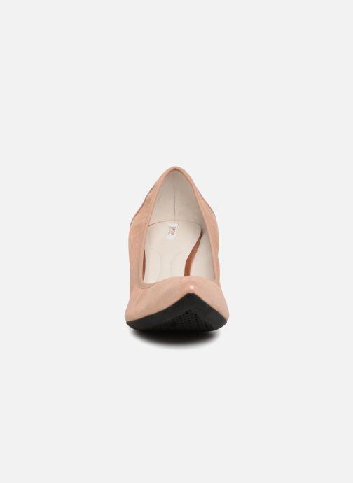 Escarpins Geox D Elina B D72P8B Rose vue portées chaussures