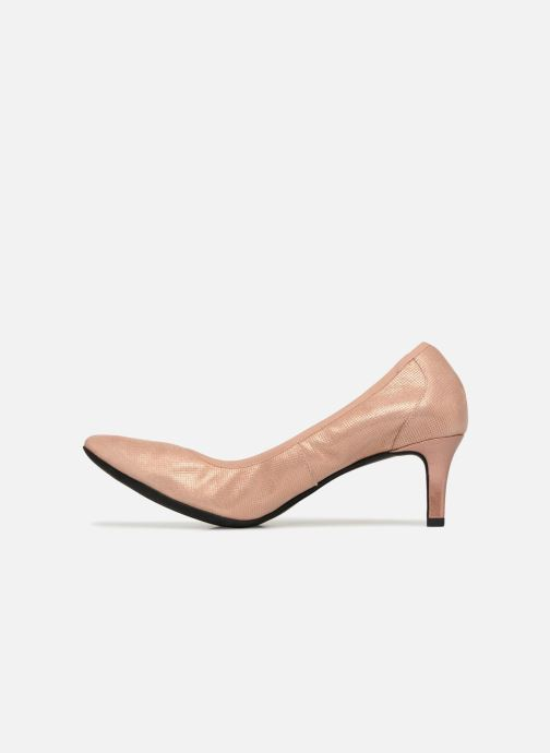 Zapatos de tacón Geox D Elina B D72P8B Rosa vista de frente
