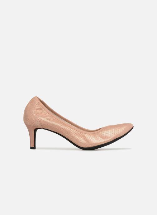 Zapatos de tacón Geox D Elina B D72P8B Rosa vistra trasera