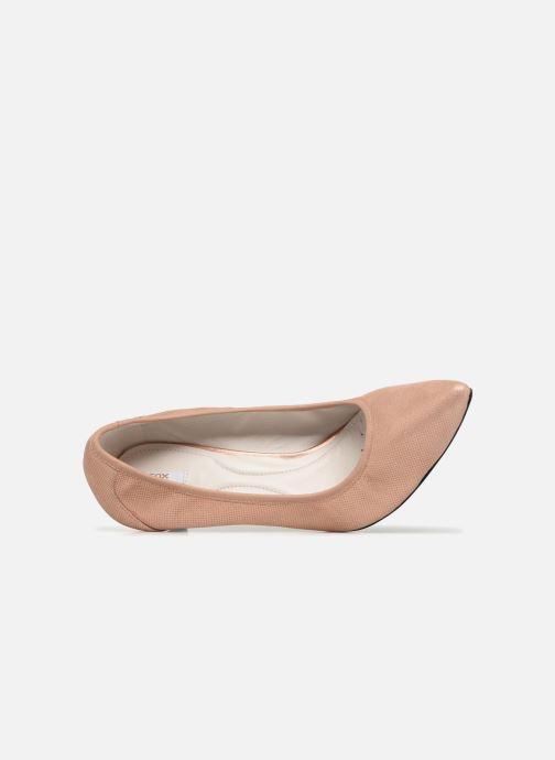 Zapatos de tacón Geox D Elina B D72P8B Rosa vista lateral izquierda