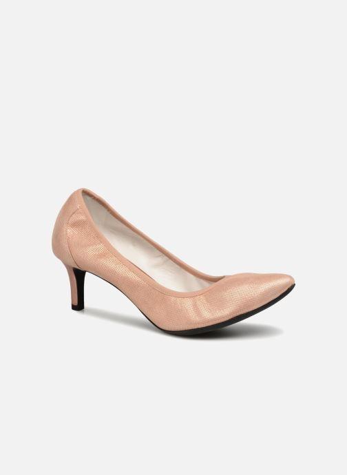 Zapatos de tacón Geox D Elina B D72P8B Rosa vista de detalle / par