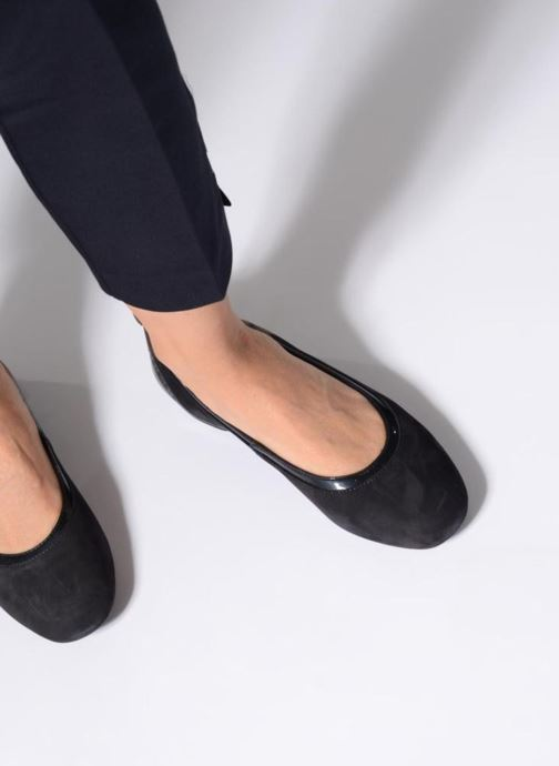 Ballet pumps Geox D Lamulay C D745DC Blue view from underneath / model view