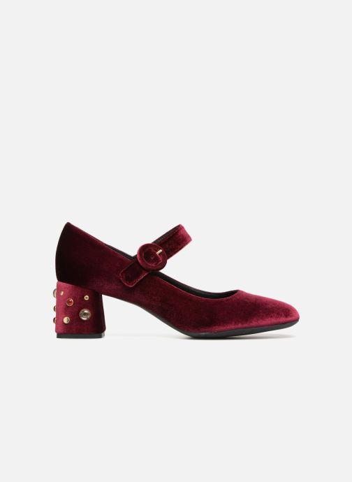 High heels Geox D Seyla A D748VA Burgundy back view