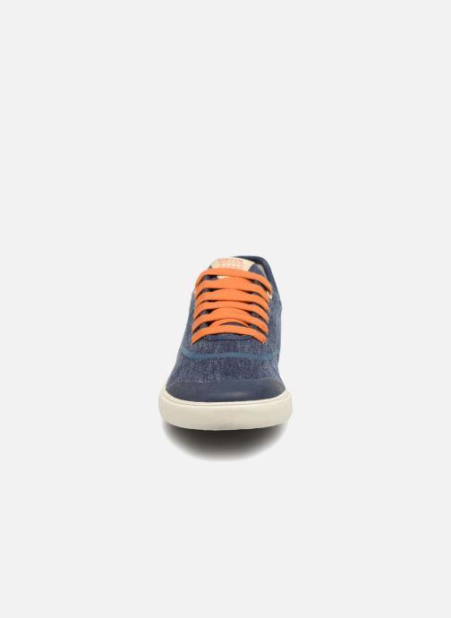 Baskets Geox J Kilwi B. T J72A7T Bleu vue portées chaussures