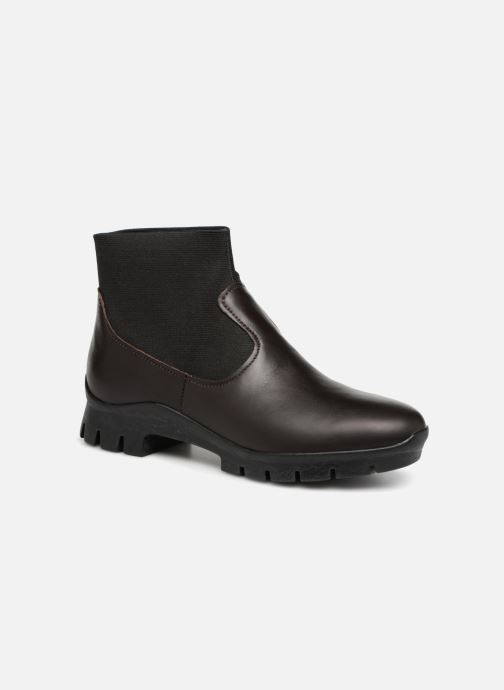 Ankle boots Camper Tomorrow K400046 Black detailed view/ Pair view