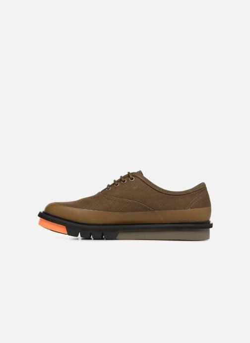 Chaussures à lacets Camper Mateo K100184 Vert vue face