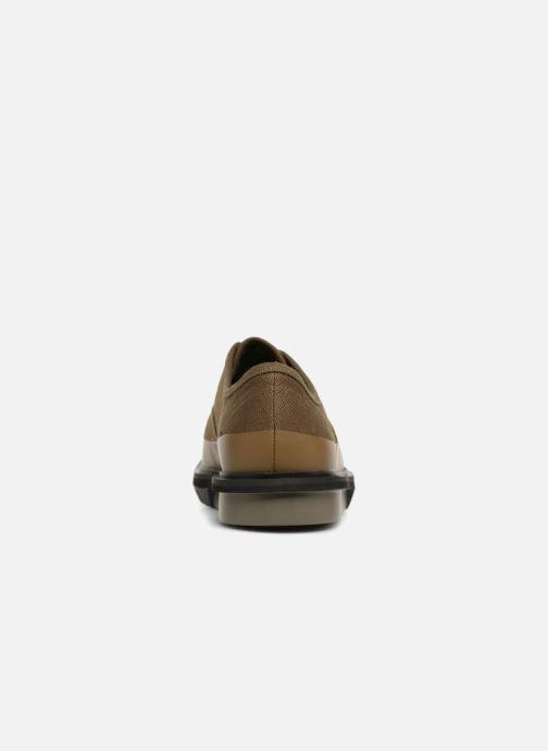 Chaussures à lacets Camper Mateo K100184 Vert vue droite