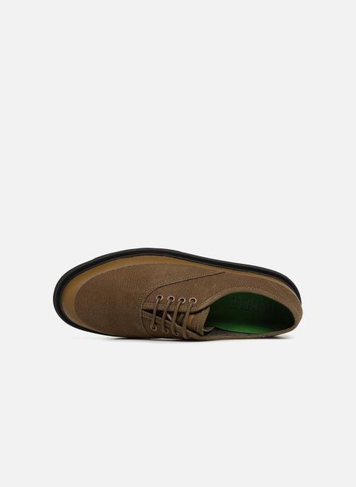 Scarpe con lacci Camper Mateo K100184 Verde immagine sinistra