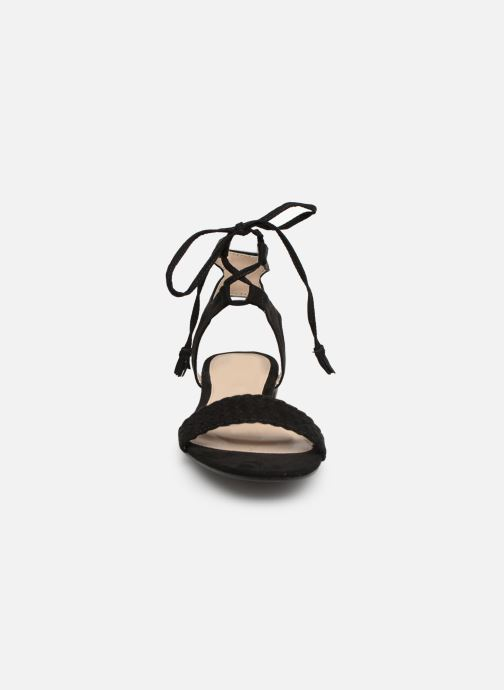 Sandales et nu-pieds I Love Shoes Golice Noir vue portées chaussures