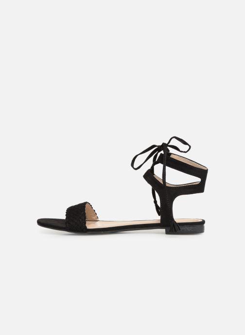 Sandales et nu-pieds I Love Shoes Golice Noir vue face