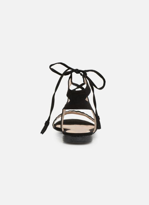 Sandales et nu-pieds I Love Shoes Golice Noir vue droite