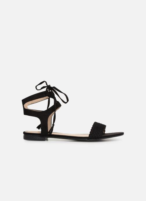 Sandales et nu-pieds I Love Shoes Golice Noir vue derrière