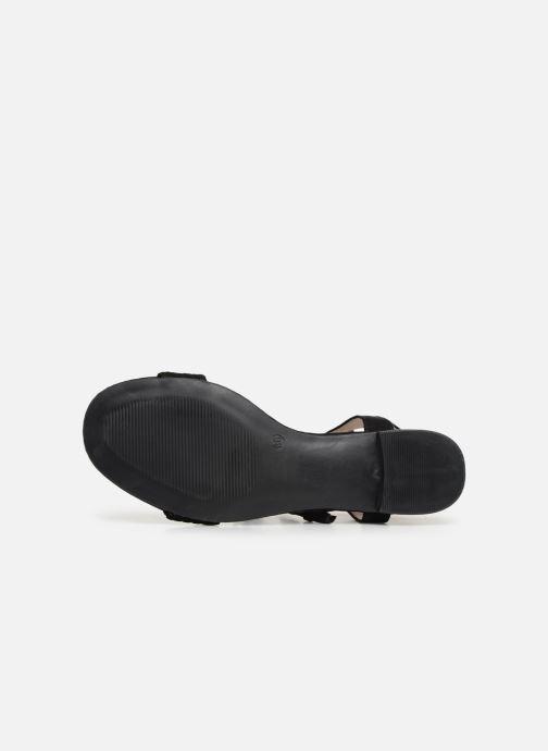 Sandales et nu-pieds I Love Shoes Golice Noir vue haut