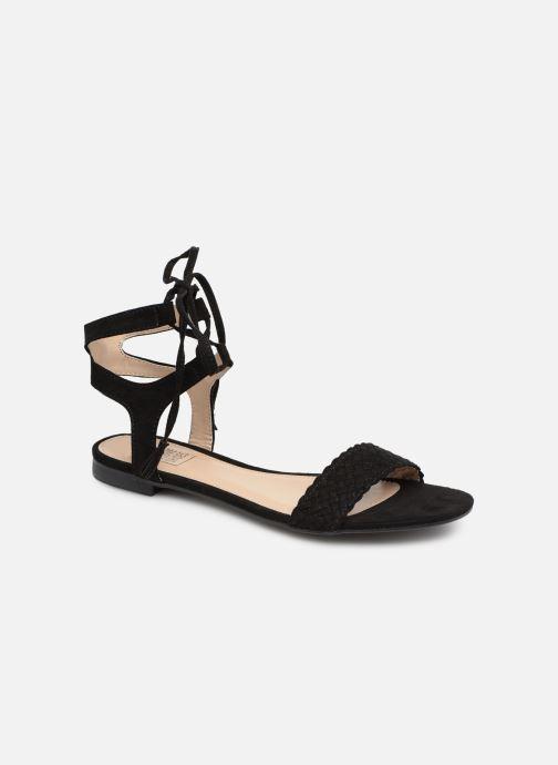 Sandales et nu-pieds I Love Shoes Golice Noir vue détail/paire