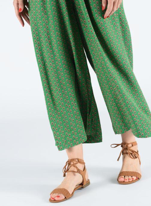 Sandales et nu-pieds I Love Shoes Golice Marron vue bas / vue portée sac