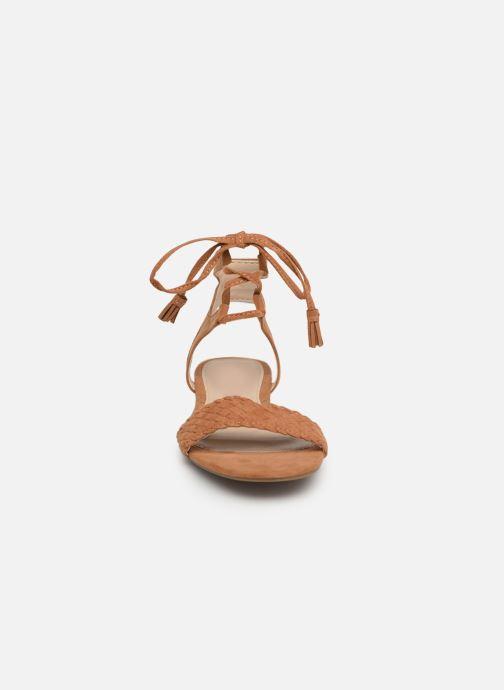 Sandales et nu-pieds I Love Shoes Golice Marron vue portées chaussures