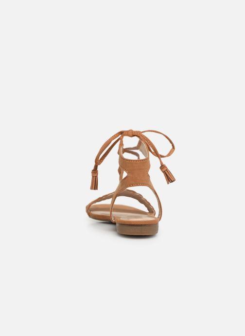 Sandales et nu-pieds I Love Shoes Golice Marron vue droite