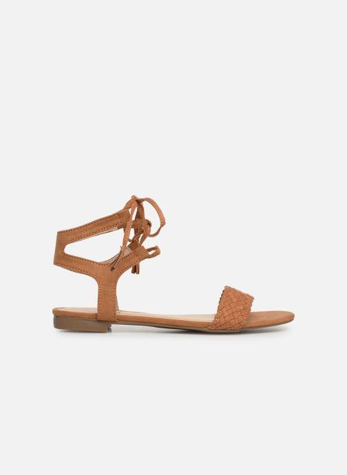 Sandales et nu-pieds I Love Shoes Golice Marron vue derrière