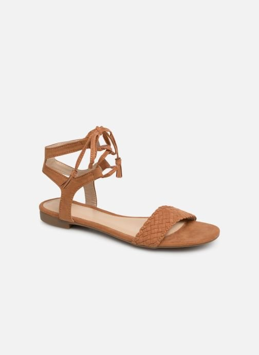 Sandales et nu-pieds I Love Shoes Golice Marron vue détail/paire