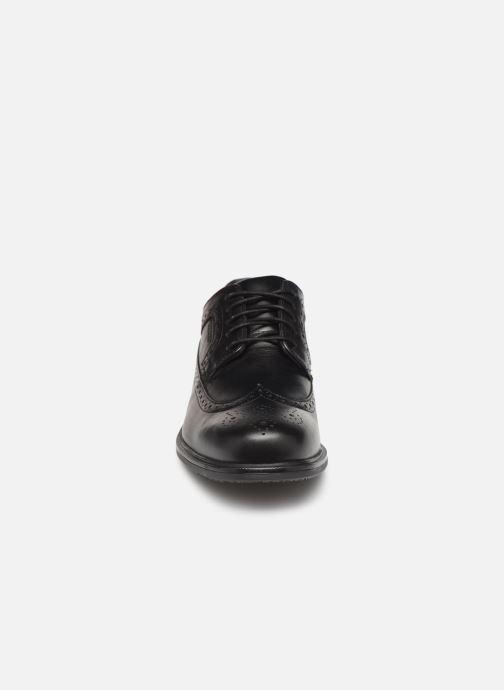Chaussures à lacets Rockport Esntial Dtl II Wing Tip Noir vue portées chaussures
