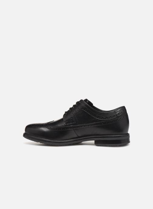 Chaussures à lacets Rockport Esntial Dtl II Wing Tip Noir vue face
