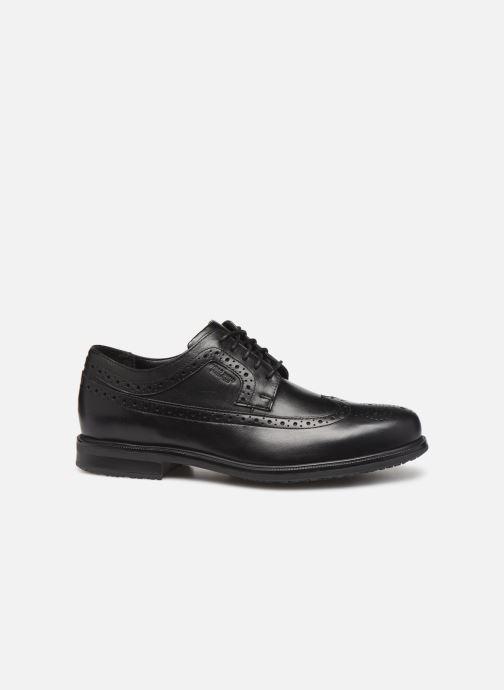Chaussures à lacets Rockport Esntial Dtl II Wing Tip Noir vue derrière