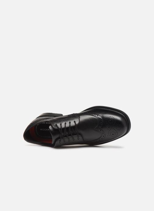 Chaussures à lacets Rockport Esntial Dtl II Wing Tip Noir vue gauche