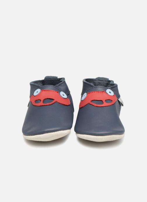 Chaussons Bobux Transport 4312 Bleu vue portées chaussures