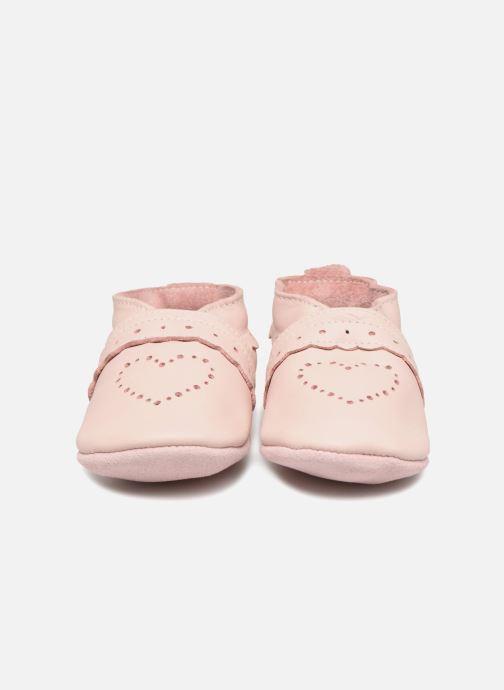 Tofflor Bobux Classics Rosa bild av skorna på