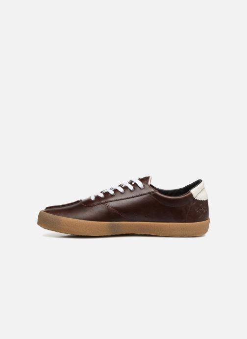 Sneakers Faguo Albizia03 Brun bild från framsidan