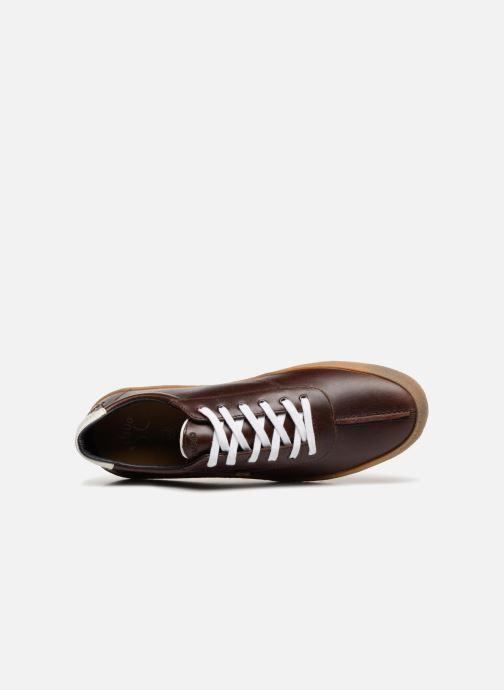 Sneakers Faguo Albizia03 Brun bild från vänster sidan
