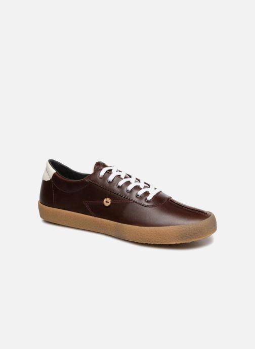 Sneakers Faguo Albizia03 Brun detaljerad bild på paret