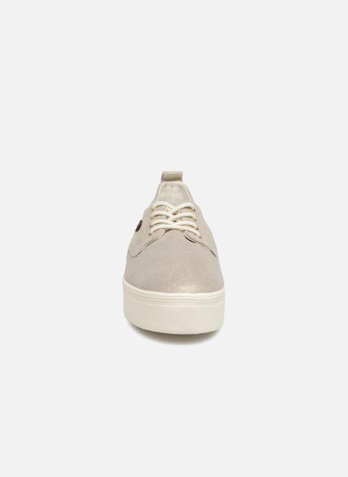 Baskets Faguo Figlone03 Or et bronze vue portées chaussures