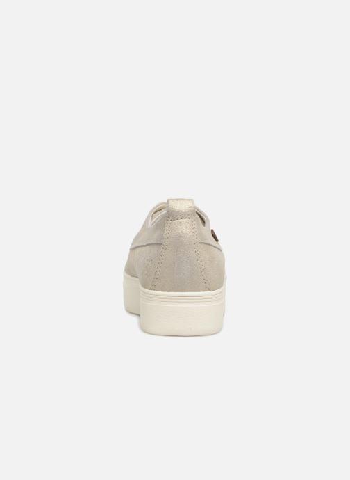 Baskets Faguo Figlone03 Or et bronze vue droite