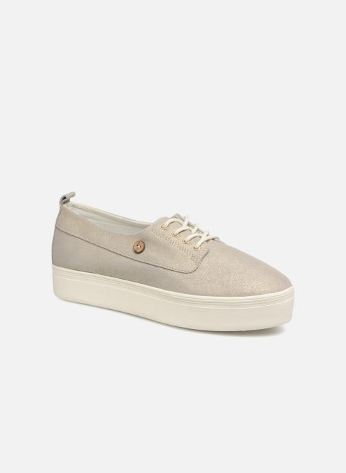 Sneakers Faguo Figlone03 Goud en brons detail