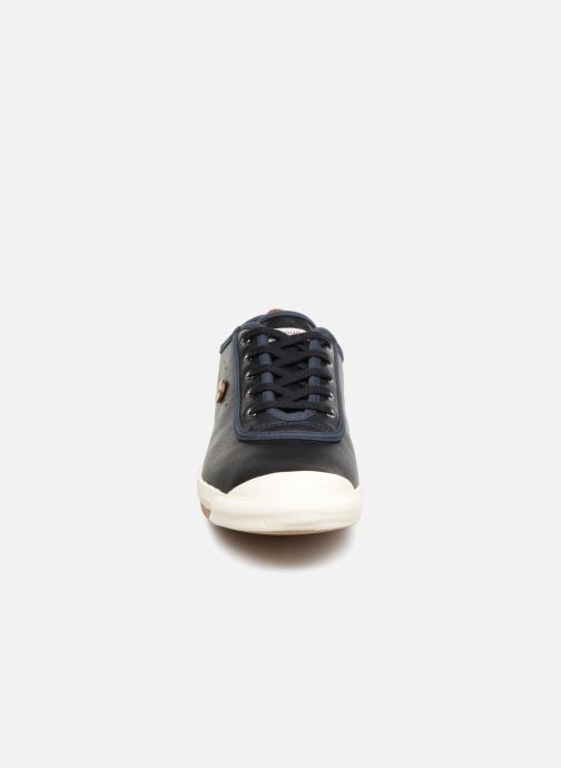 Baskets Faguo Oak03 Bleu vue portées chaussures