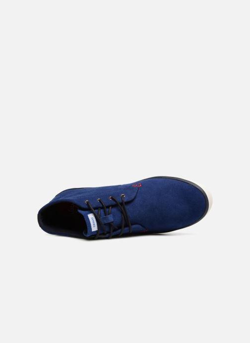 Baskets Faguo Wattle02 Bleu vue gauche