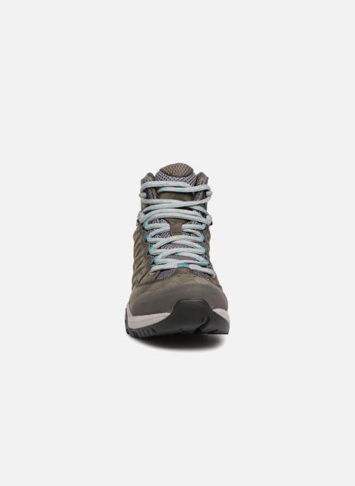 Chaussures de sport The North Face Hedgehog Hike III GTX W Gris vue portées chaussures