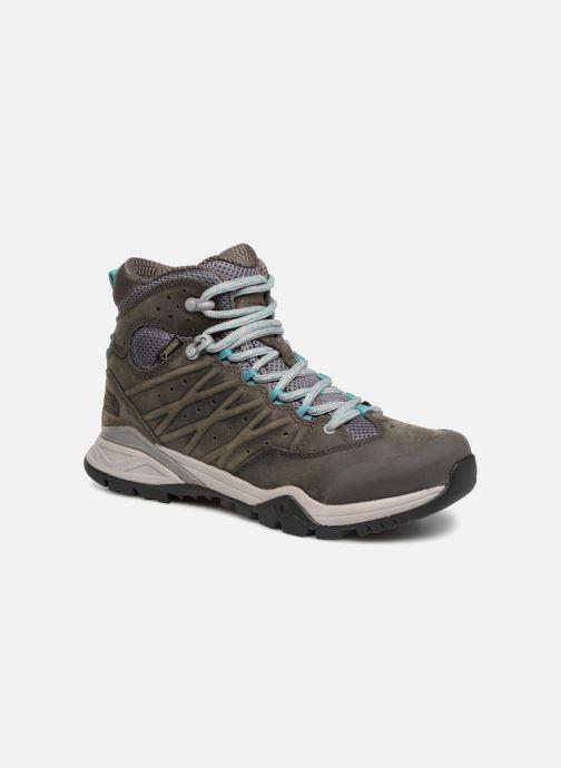 Chaussures de sport The North Face Hedgehog Hike III GTX W Gris vue détail/paire